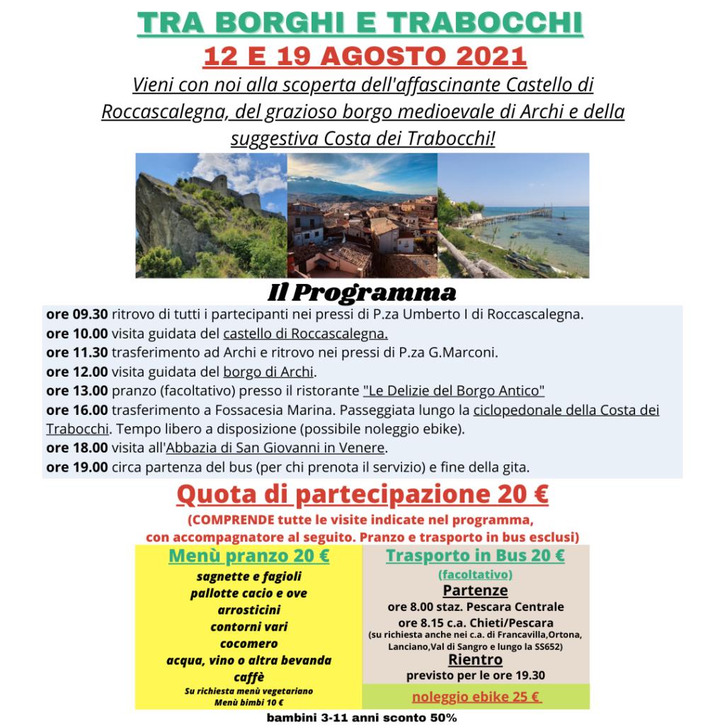 Tra Borghi e Trabocchi 1x1